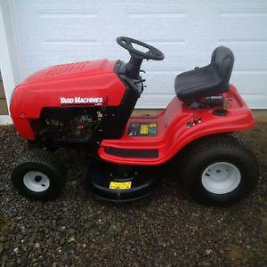 """SOLD ** Yard Machines 13.5hp Lawn Tractor (38"""" cut) **SOLD**"""