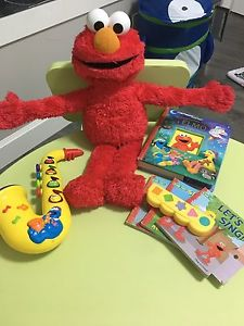 Sesame Street Toy Lot