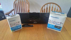 Sirius Xm Boom box, Home kit and Car kit