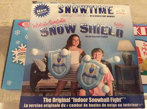 Snow Shield Game New Never Opened or Used