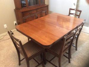 Solid Mahogany Dining Suite