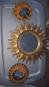 Sun and moon mirrors