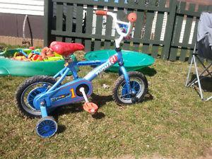 Thomas the Train Kids Bike and Helmet