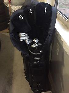 Top Flite XL  piece golf set with bag