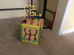 Wooden learning toy