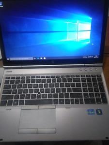 laptop hp elitebook i7 8gb ram 500gig harddrive working as