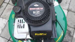 lawnmower 22 inch cut self propelled