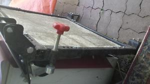 mobile base for table saw etc