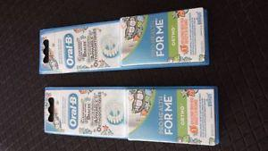 2 brand new never opened Oral-B ORTHO replacement brush head