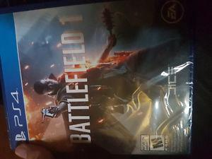 Battlefield 1 sale or trade for working controller