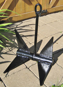 Boat Anchor Navy Type 10 Pounds
