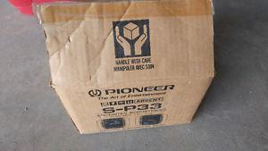 Brand new Pioneer speakers in the box never used or opened