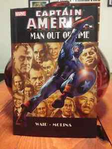 Captain America: Man Out of Time HC Comic