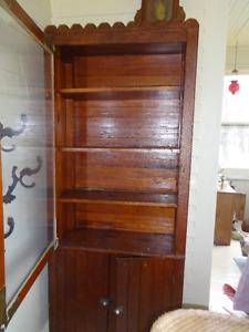 Cupboard/Bookcase/Hutch circa  with original finish