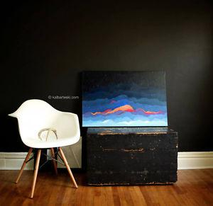 Feet: Fire by local artist, Kal Barteski