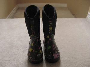 Girl's Bog Boots Size 3
