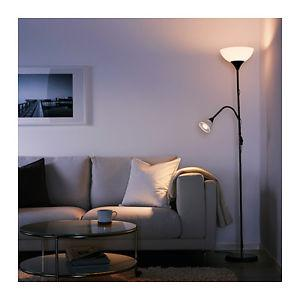 Ikea Torchiere & Reading Lamp