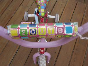 Kids bike, Supercycle (16 inch.) + training wheels for sale