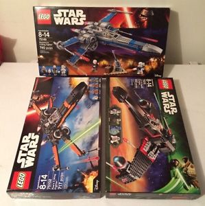 Lego Star Wars X-Wing Starfighter Lot *New in Box*