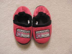 Montreal Canadiens NHL Child Slippers