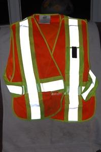 New Safety Vest size adjustable