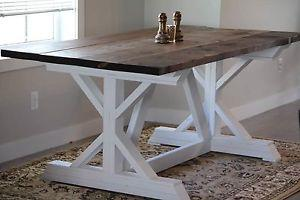 New Solid Wood Dining Table (Delivery Available)
