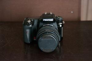 Pentax K100d with Pentax SMC DA  Lens