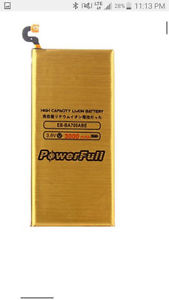 Samsung Galaxy S6 PowerFull High Capacity  mAh Battery