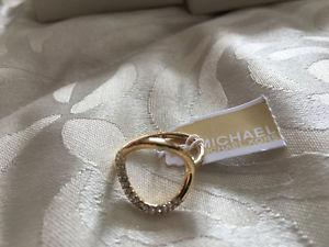 Selling NEW Gold Michael Kors Ring