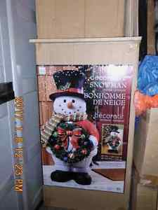 Snowman 40 inch indoor/outdoor use - excellent condition