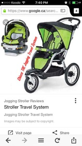 Wanted: Looking for Jogging stroller travel system