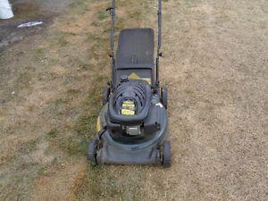 yardworks electric lawn mower manual