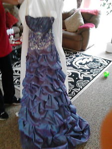 grad dress only worn once brand new