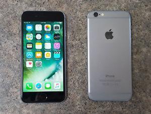 iPhone 6 Black 16GB Fido, mint condition