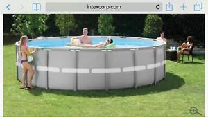 16' Above ground pool