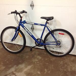 "18 speed mountain bike, 26"""