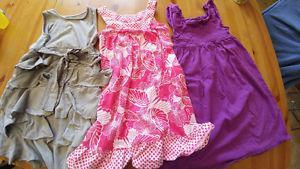 3 Dresses size 7/8