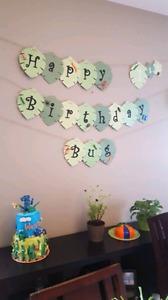 Birthday Package - BUG Theme