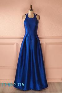 Blue Prom dress Medium Never Worn