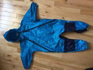 Blue size 3t tuffo muddy buddy rain suit