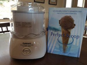 CUISINART Frozen Yogurt, Ice Cream, and Sorbet Maker
