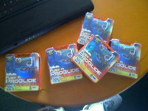 Gillette Fusion Proglide Power Blades 8 Packs $20 each