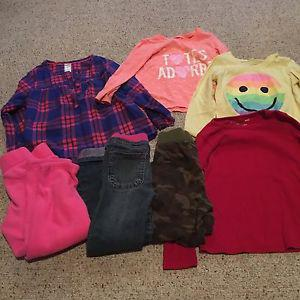 Girls clothes size 4/5