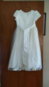 Girls size 10 Miniature brides maid dress