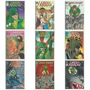 Green Arrow Comic Books