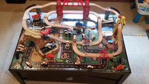 Kids Train Table Set