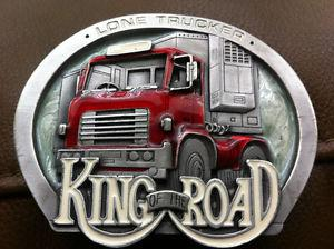 King of the Road Belt Buckle