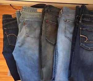 Ladies Jeans (5 pairs)