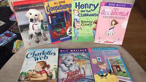 Lot of kids novels