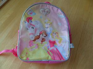 "New Princess Back Pack $""wide x"". Smoke/ pet"